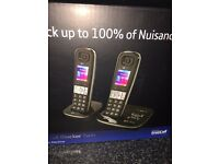 Unused Bt dual 8500 phones with 100%