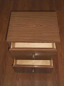 Two-Drawers on Casters