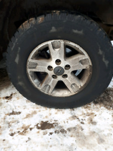 "ISO 17"" truck rim with/without tire"