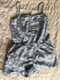 Girls Playsuit -Age 5-6