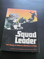 1977 SQUAD LEADER AVALON WWII GAME