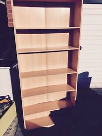 Bookshelf very good condition free delivery
