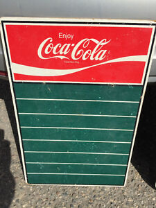 Coke chalk board