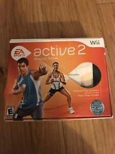 EA active personal trainer for the wii