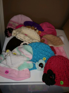 Girls hats most under age 3