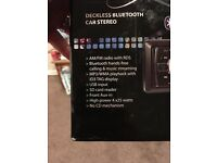 Deckless Bluetooth car stereo