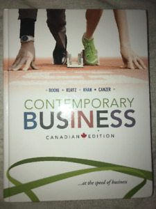 Contemporary Business TEXTBOOK. Boone