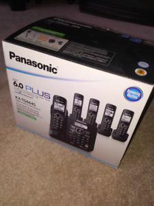 Panasonic Digital Answering Machine w/ 5 handsets