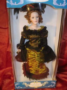 1/2 price $10.00 Porcelain dolls in Boxes