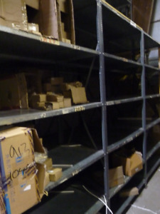 """Industrial Shelving 96"""" Height - 13 Unit Lot"""