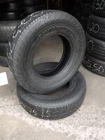 225/75/15 Dunlop Radial Rovers – 1000's of Used Tires Avail