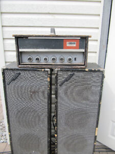 Old tube type amplifier