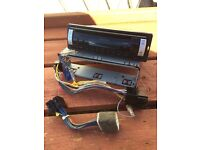 Pioneer car stereo radio CD player DEH-1820R ICE & MG rover wiring harness cable