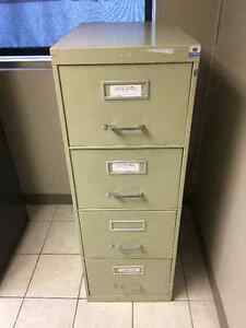 One metal filing cabinet for sale