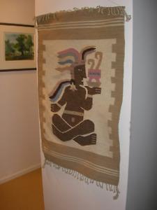 """Beautiful Old Wool Art (41"""" x 26"""")"""