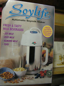 Automatic Soy and Rice Milk Machine, + Tofu and Almond Milk
