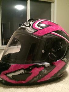 Sreetbike- Icon Jacket and HJC Helmet (women's) Edmonton Edmonton Area image 1