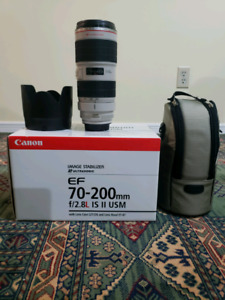 Canon EF 70-200mm f/2.8L IS II USM DSLR lens
