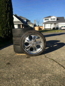 """22"""" tires and wheel for chrysler 300,dodge charger"""