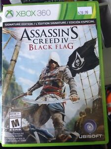 4 jeux assasins's creed xbox360