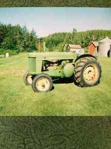 Styled AR John Deere tractor