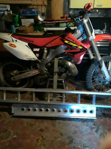 2003 cr250r for sale has papers