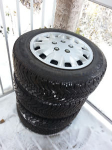 "Winter Tires for Honda Civic/Mazda 3 (With 15"" Wheels)"