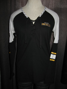 Ladies BOSTON BRUINS lounge pants and top size M