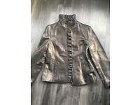 DKNY ladies leather jacket