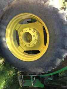 13.6 - 28 and 18.4 - 38 tractor tires Strathcona County Edmonton Area image 2
