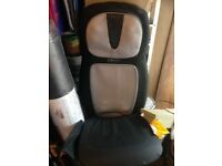 Holistic medics back and neck massage chair with heat. Seat will attach to a chair if needed.