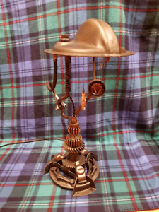 Steampunk Style Vintage Jeep Parts Lamp