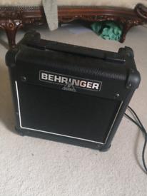 Guitar Amp Valve Behringer 15w