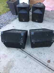 Concert style speakers