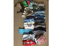 Bundle boys clothes 9-12 months. Over 40 items