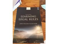 Law books- LLB law course. Core 8 modules and electives. Excellent condition unmarked