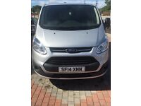2014 14 reg ford transit custom NO VAT