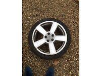 18 inch RS6 alloy wheels x4. Fit Audi, Skoda, VW, Seat