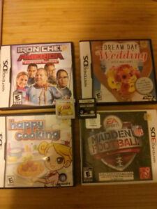 Jeux de DS et 3DS