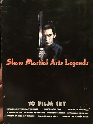 5-DVD, 10-Film Set, Shaw Martial Arts Legends (DVD, 2005)