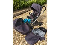 Baby style Oyster Plush Travel System