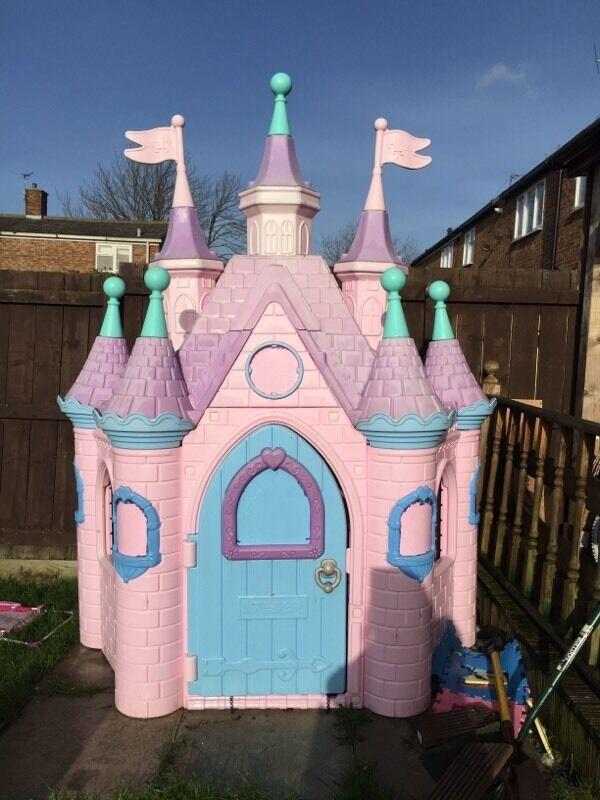 7 Feet Tall Disney Princess Castle For Sale Reduced