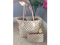 Louis Vuitton Neverfull in White £45 ono