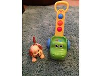 Little Tikes Croc-a-Walker and Fisher Price Dog