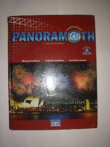 Panoramath Manuel A vol. 1 (25,00 $)