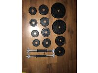 York dumbell set-SOLD AWAITING COLLECTION