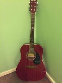 Westfield acoustic guitar as new