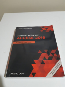 Microsoft Office 365 Access 2016 Comprehensive