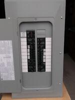 Panneau siemens 100AMP 20/40 circuits avec main breaker