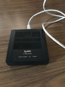 ZyXEL P-600 series ADSL2 + Ethernet Cable Modem for Teksavvy